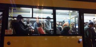 aglomeratie autobuz tce