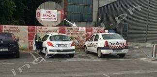 maina politie parcata kaufland sud