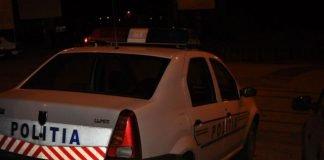 masina politie noapte
