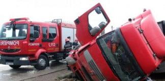 arad soferul unei autobasculante a murit pe loc in urma unui grav accident cu un tir 314766